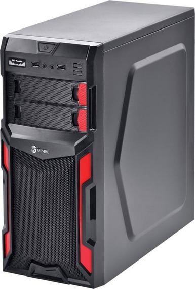 Pc Torre Dual Core 2gb Ram 500gb Windows 7 + Frete Grátis!