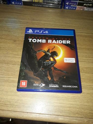 Juego De Ps4 Shadow Of Tomb Raider