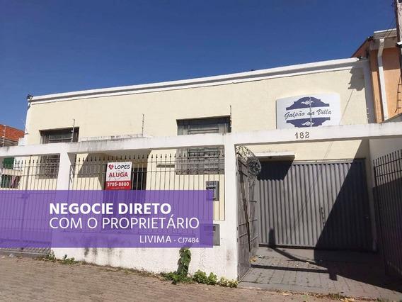 Galpão Para Alugar Na Rua Maria Soares Em Vila Industrial, Campinas - Sp - Liv-2307