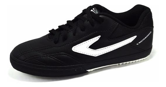 Tenis, Topper, Futsal, Dominator 3, Preto/branco
