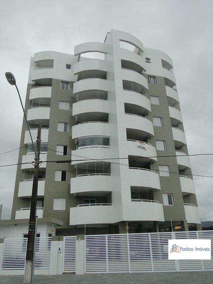 Apartamento Com 1 Dorm, Vila Atlântica, Mongaguá - R$ 200.000,00, 58m² - Codigo: 660700 - A660700