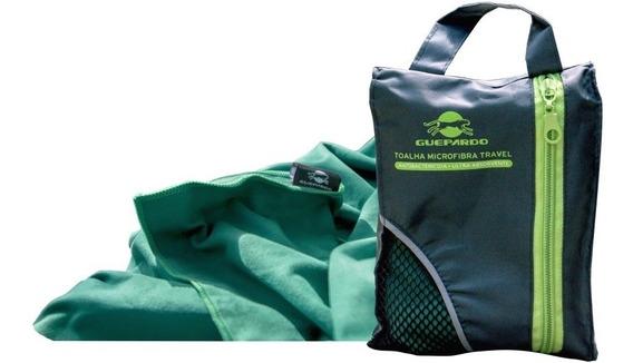 Toalha Banho Camping Viagem Academia Verde Guepardo Multiuso