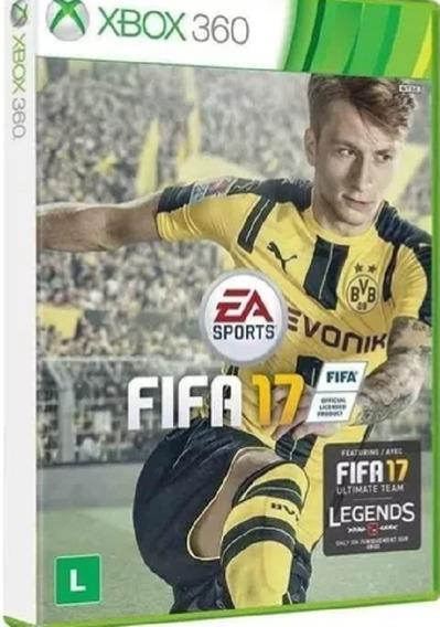 Xbox One Game Fifa 17 Mídia Física Original
