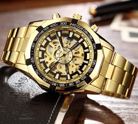 Relógio Automático Esqueleton Winner Forsining
