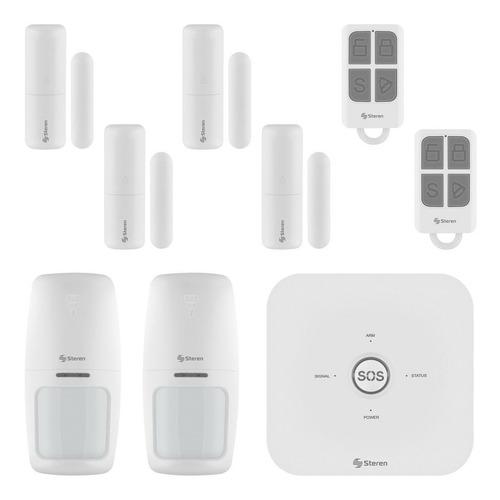 Imagen 1 de 2 de Kit Sistema Seguridad Wifi 6 Sensores Alarma Inteligente