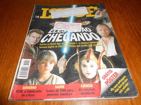 Revista Istoé 23/06/1999 Especial Star Wars Episodio 1.