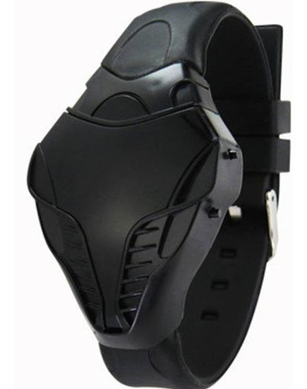 Relógio Sport Cobra De Led Unissex Pulseira De Borracha Oferta