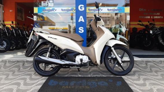 Honda Biz 125 Flex 2018 Branca Único Dona
