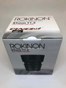 Rokinon 85mm T1.5 As Umc Cine Ds Para Sony E-mount