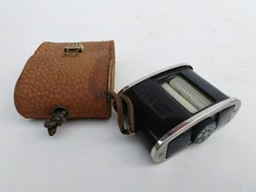 Fotometro Antigo Tuck Tite Capa Couro Inglês Raridade Dispon