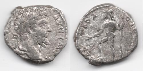 Imagen 1 de 1 de Moneda Romana Denario Septimius Severus 193-211 Dc. L173