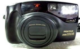 Camera Fotográfica Pentax Zoom 105-r Lens 38mm Ótimo Estado
