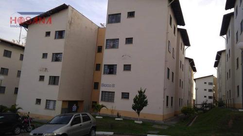 Imagem 1 de 10 de Apartamento À Venda, 52 M² Por R$ 75.000 - Vila Palmares - Franco Da Rocha/sp - Ap0166