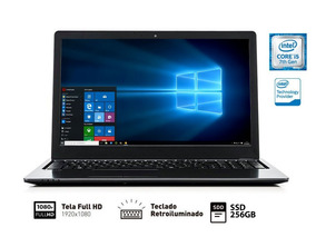 Notebook Vaio I5-7200u 8gb 256gb - Vjf155f11x-b0911b Fit 15s