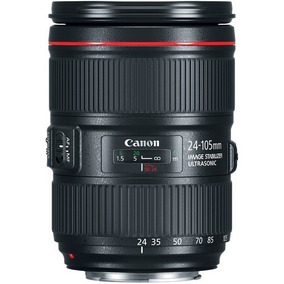 Canon 24-105mm F/4 L Is Ii Lente Loja Garantia Nf Promoção