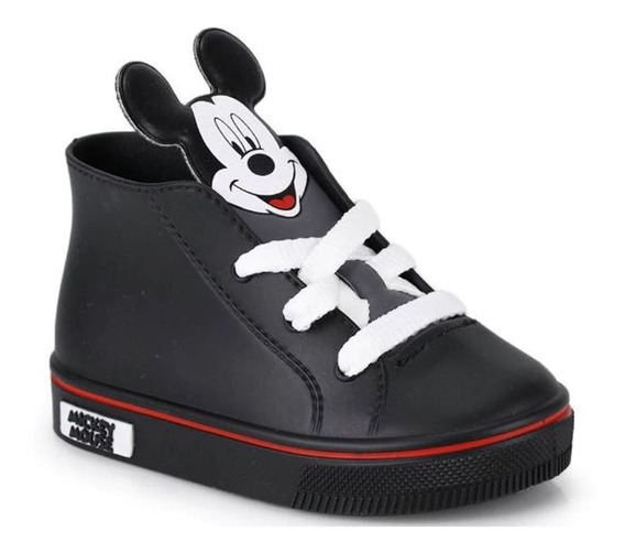 Tênis Disney Little Baby Mickey Mouse Grendene Kids 1-00088