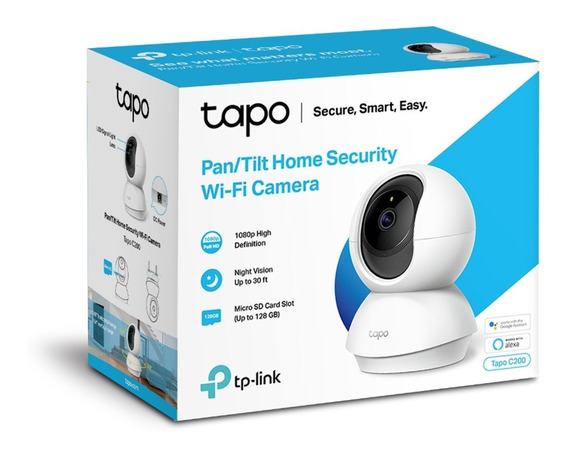 Tplink C200 Tapo Cámara Seguridad Wi-fi 360 Full Hd Nocturna