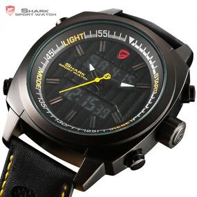 Relógio Masculino Shark Sport Watch Original Ds029l Luxo