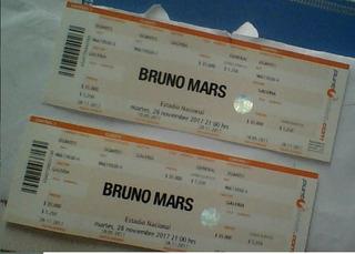 1 Entradas Bruno Mars Galeria