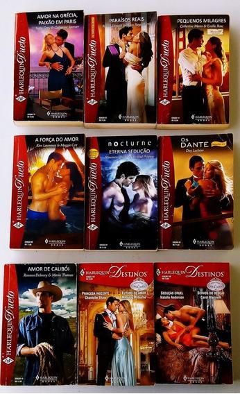 Harlequin Dueto E Destinos Coleção 09 Livros Frete Grátis