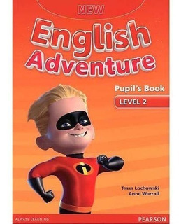 New English Adventure 2 - Pupil´s Book With Dvd - Pearson