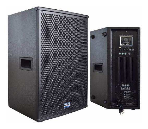 Caixa De Som Ativa Mark Audio Ca600 150w Af12 Usb/sd/fm