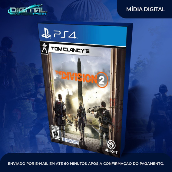 Tom Clancys The Division 2 Psn Mídia Digital Envio Hoje!
