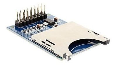 Módulo Sd Card Con Regulador 3,3v Arduino Pic Stm
