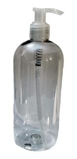 Pack X 100 Dispenser De Alcohol En Gel 500cc Pet Cristal
