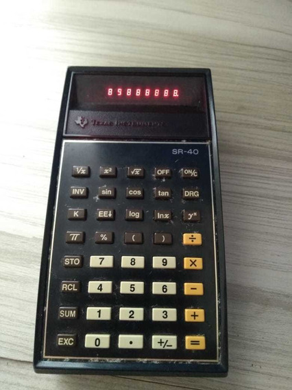 Calculadora Texas Sr 40