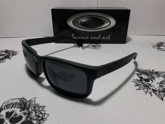 Oculos De Sol Preto Holbrook Polarizado Oakley Unissex Importado 1°linha Fts Reais Do Produto
