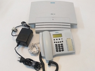 Pabx Siemens Hipath 1120 2 Linhas 8 Ramais + Profiset 3030