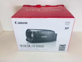Câmera Filmadora Canon Vixia Hf R800 Tripé Cartão 64gb Bolsa
