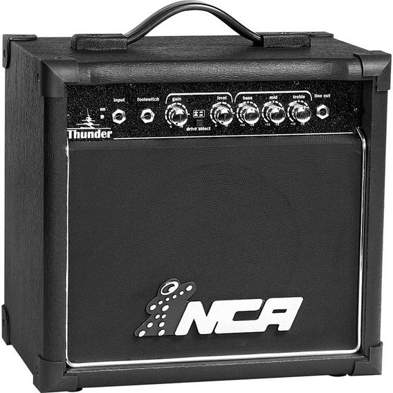 Amplificador Para Guitarra Nca Thunder 15w Rms Bivolt