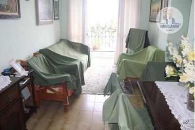 Apartamento Com 3 Dormitórios À Venda, 92 M² Por R$ 380.000 Avenida Presidente Castelo Branco, Canto Do Forte - Praia Grande/sp - Ap8372