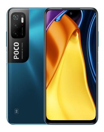 Celular Smartphone Xiaomi Poco M3 Pro 128gb Azul - Dual Chip