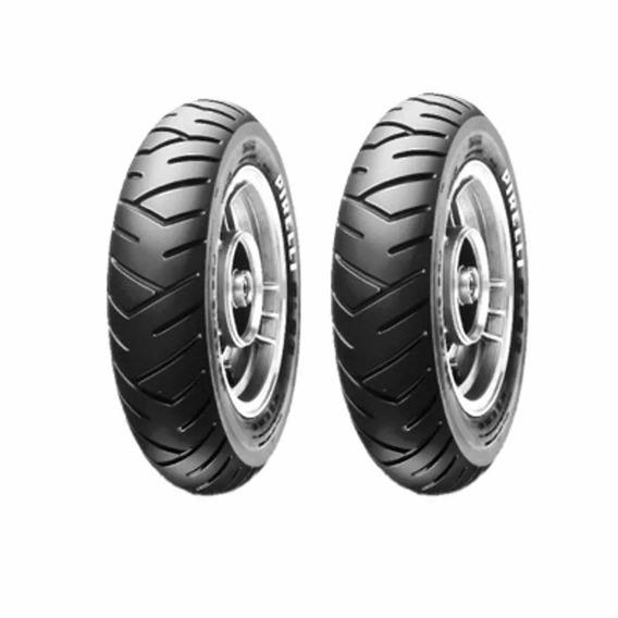 Par Pneu Pirelli Sl26 90/90-12 + 100/90 R10 Honda Lead Orig
