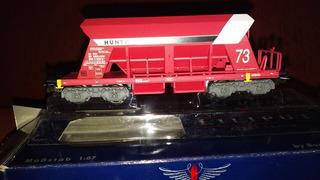 Vagón Liliput Cemento Y/o Áridos Ferrocarriles Alemanes