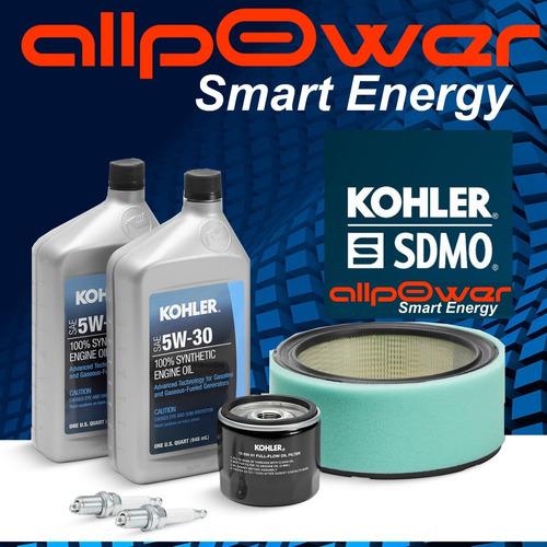 Kit Mantenimiento Grupo Electrogeno Kohler Gas 17kva 20resa