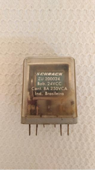 Rele Schrack Zu200024 C/ Soquete