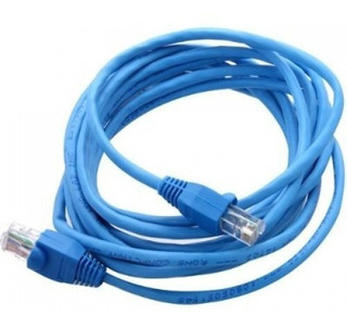 BLUE CAT 5E RIGHT ANGLE 10FT L-COM TRD815RA2BL-10 PATCH CORD