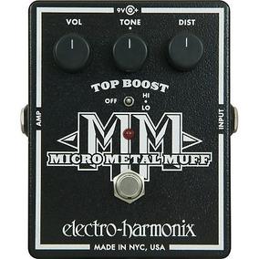 Pedal Electro Harmonix Micro Metal Muff Distortion - Hendrix