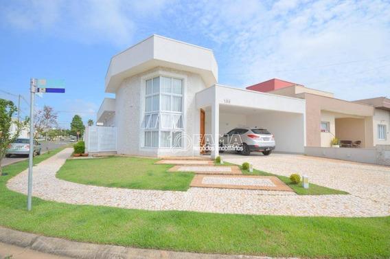 Casa Com 3 Dormitórios À Venda, 201 M² Por R$ 820.000,00 - Condomínio Campos Do Conde Ii - Paulínia/sp - Ca2094