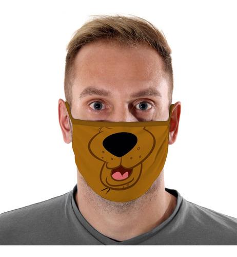 Mascara De Protecao Scooby Doo Adulto