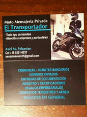 Servicio Moto Mensajeria Zona Norte Olivos