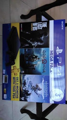 Imagen 1 de 2 de Sony Ps4 Pro Playstation 4 1tb Black +2 Games Works