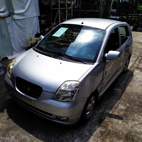 Sucata Kia Picanto Ex 1.1 Gasolina Automático 2007