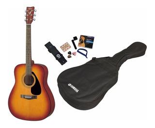 Guitarra Acustica Yamaha F310 P Natural + Funda Y Accesorios
