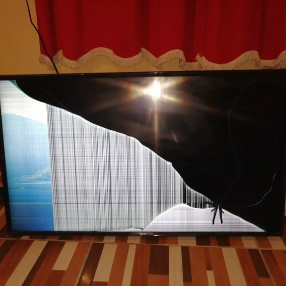 Tv Lg 43 4k 43uj6300 Danificada