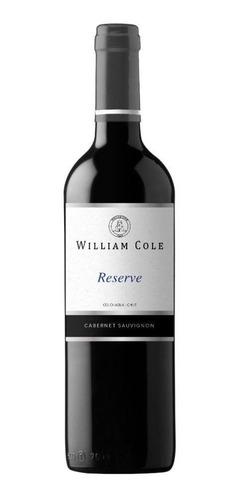 6 William Cole Reserve Cabernet Sauvignon Ref.retail$30.000